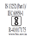 INDIA BIS (GTM96060) 5V, 5.5V,5.95V, 7.5V, 9V, 12V, 15V,18V, 19V, 24V only