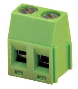 2 Pole 5.0MM Pitch UL94V-0 Rated Terminal Block